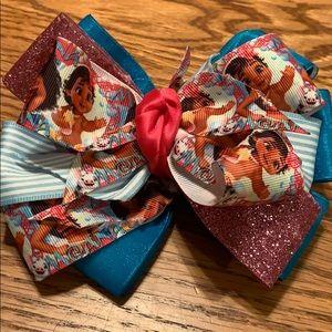 Moana Handmade bow 🎀